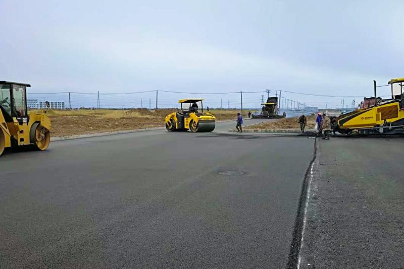 沿海道路項目施工